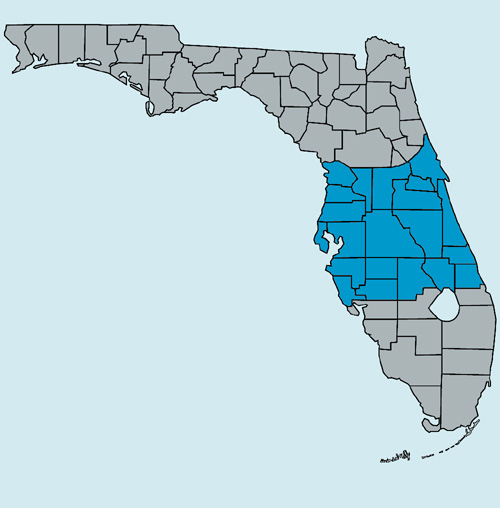 Alachua Florida Map.Central Florida S Snakes